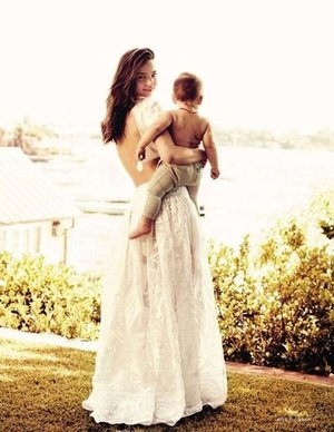 Miranda Kerr the model mum