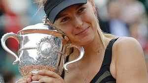 Maria Sharapova wins the French Open