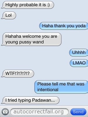 Auto correct fail mistakes that make you ROFL