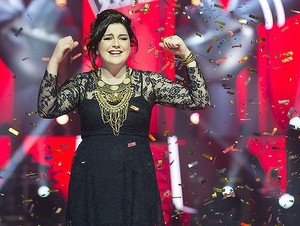 Karise Eden wins The Voice!