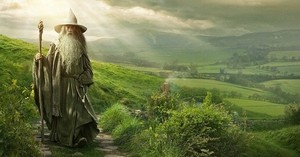Gandalf is here to take us back again to the middle earth with 'The Hobbit'