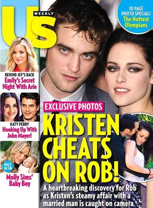Kristen Stewart cheats on Robert Pattinson with married man!!!