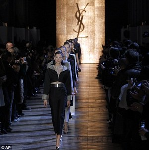 Yves Saint Laurent is now Saint Laurent Paris