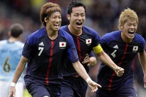 Underdog Japan beats top seed Spain 1-0 in Olympic men's football opener