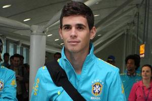 Midfield playmaker Oscar completed a £25million move to Stamford Bridge.