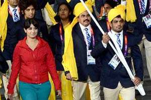 The Girl Who Gatecrashed India's Olympic March