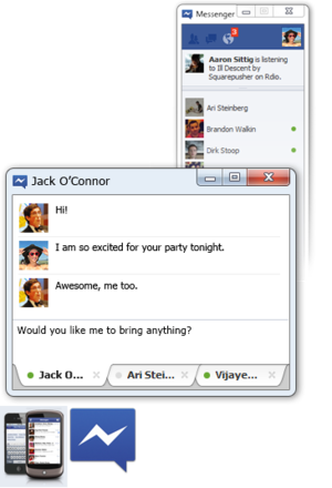 Facebook Messenger for Windows now released! [standalone chat]