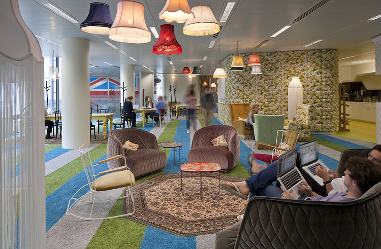 Step Into Google's New London HQ: The 2012 Version of Mr Bean's Flat