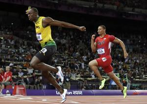 Bolt Anchors Jamaica To Sensational World Record In Men's 4X100 Relay Final