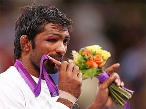 London 2012: Yogeshwar Dutt Wins Bronze Medal In Wrestling