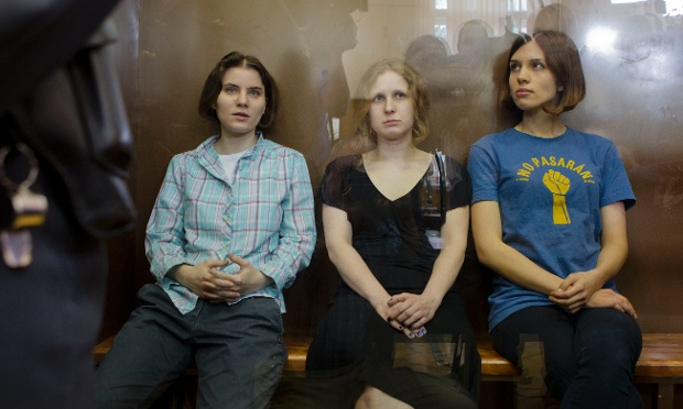 Russian Feminist Punk Band Pussy Riot Jailed For 2 Years