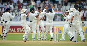Indians Seal The First Test In Style