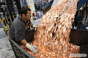 Fake or real? Samsung pays Apple $1 billion sending 30 trucks full of 5 cents