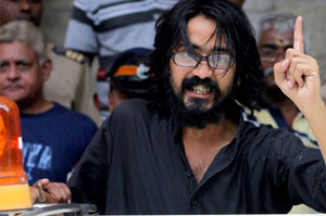 Free Speech Campaigner Cartoonist Aseem Trivedi Arrested On Sedition Charges