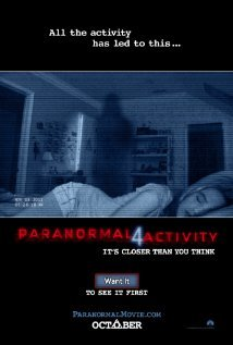 'Paranormal Activity 4' - showing on OCTOBER 19, 2012 in movie theaters NATIONWIDE  !!!!!