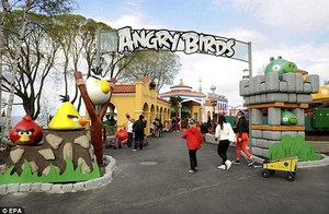 First Angry Birds Theme Park Planned For Asia!