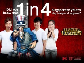The Hit Game in Singapore 'League Of Legends' also Known as 'LOL'