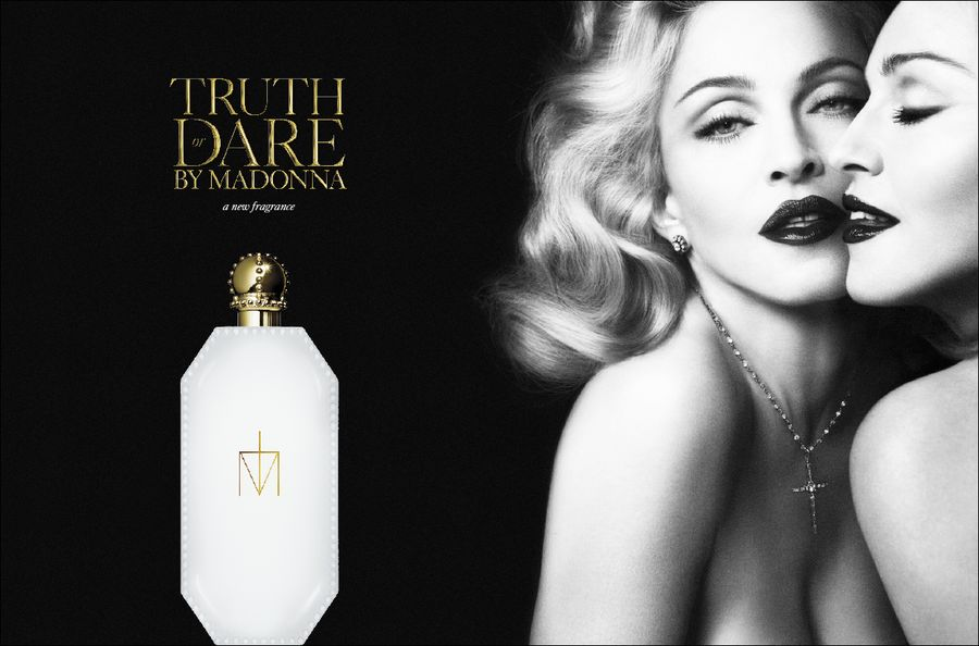 Madonna Dares to Pose Naked for Fragrance Campaign
