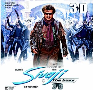 Rajinikanth's 'Sivaji 3D' First Indian Film In New Sound Format
