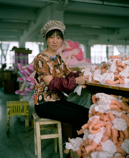 Photographer Captures Intimate Portraits Of Toy Workers In China
