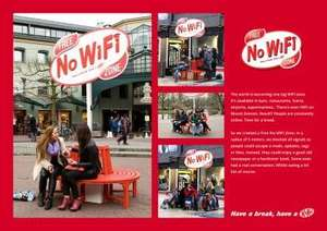 Kit Kat Introduces 'Free No WiFi Zone', To Help People 'Take A Break'