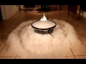 Dry ice gets even cooler in this awesome experiment
