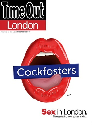 TimeOut Wants Londoners To Draw Their Own 'Rude' Magazine Cover