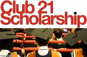 Club 21 Launches Bond-free Scholarship