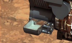 Mars Rover Curiosity Shows Off Its First Drill Sample