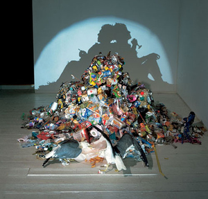 Shadow Art: Looking at Everyday Junks in a Darker Light