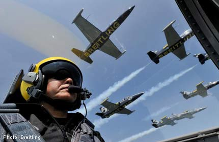 Breitling Jet Team to fly over Siloso Beach this weekend