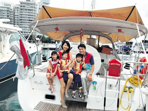 Former Actor Darren Lim's Family Lives in $300k Yacht for 8 Months