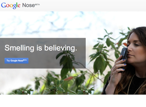 Google Nose Beta: Smelling Is Believing