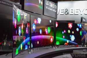 HOT OR NOT: World's Biggest Curved 3D OLED TV