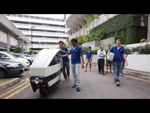 NTU Students Create Voi, Multi-Purpose Scooter