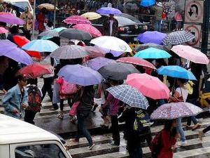 PAGASA: It's A Rainy Election Day
