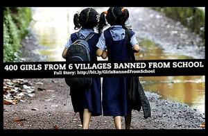 400 Girls From Six Haryana Villages Banned From School