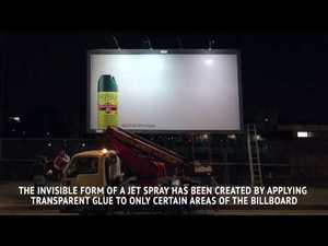 This Insecticide Billboard Really Kills Mosquitoes And Flies