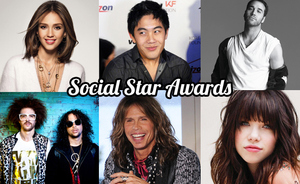 Jessica Alba, Aerosmith, Carly Rae Jepsen in S'pore for Social Star Awards!