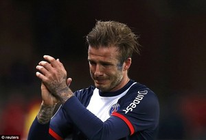 Tearful Goodbye: David Beckham's Emotional Farewell