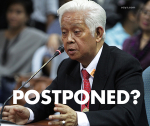 Comelec Wants Barangay Polls Postponed?