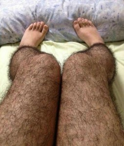 Hairy Stockings that Keep Perverts Away